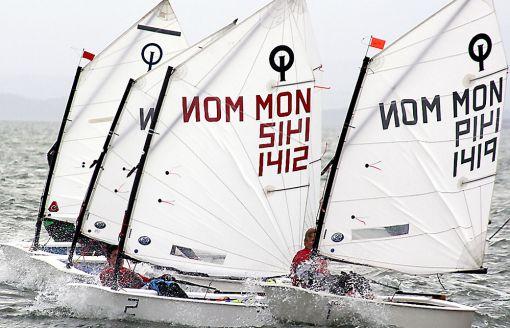 Team RACE Narbonne 28 avril 2012 optimist Voile la_Nautique L'indépendant