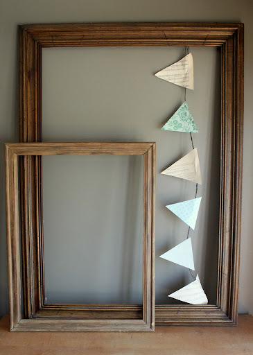 Large wooden frames available for rent from www.momentarilyyours.com, $4.00 each or $6.50 for pair.