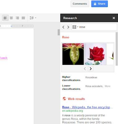 Google Docs Research