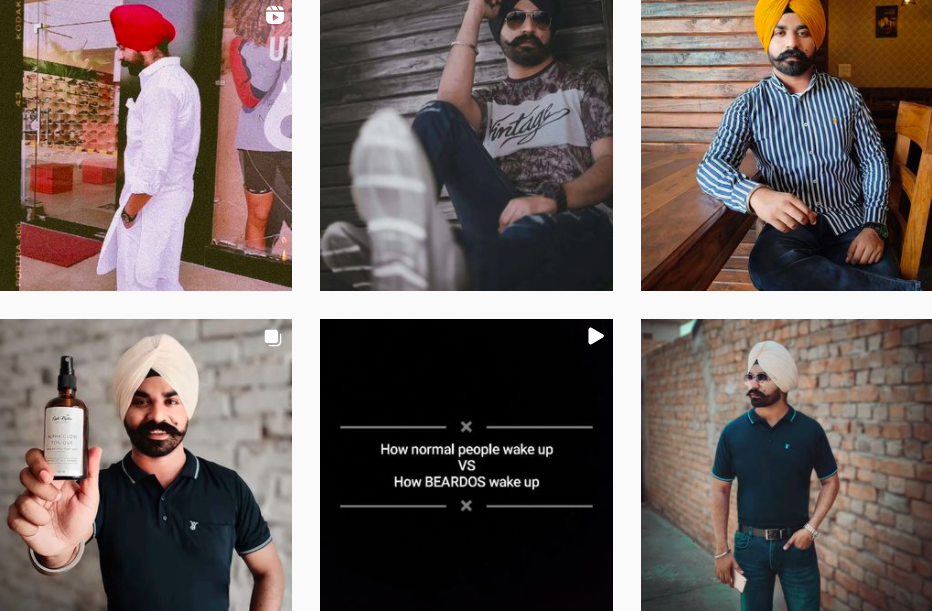 Amrit Singh | Instagram Posts | Indian Influencers Featured on Afluencer