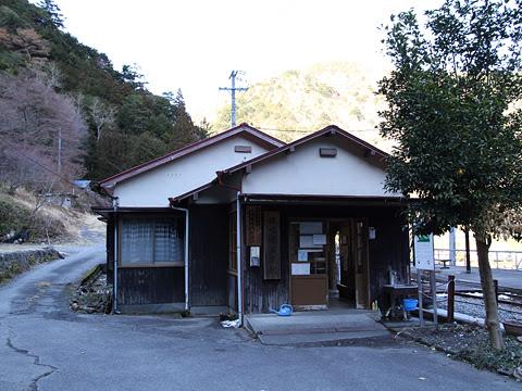 大井川鉄道 接岨峡温泉駅