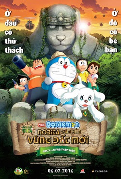 Doraemon: Nobita Thám Hiểm Vùng Đất Mới - Nobita And The New Great Haunts Of Evil
