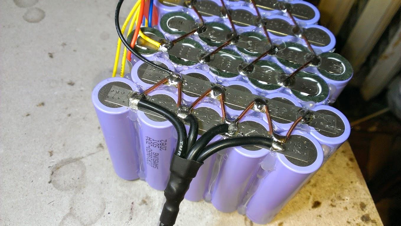 Собрать аккумулятор на Li-Ion банках