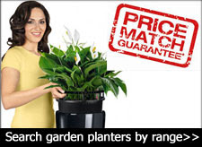 large garden pots and planters