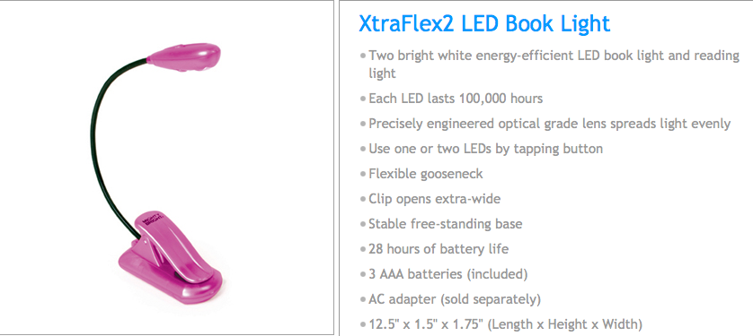 Review: Mighty Bright XtraFlex2 Book Light