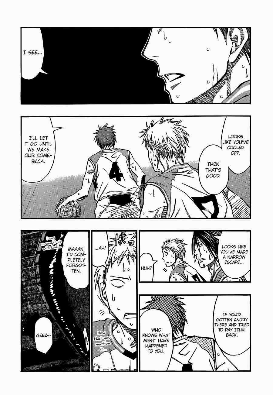 Kuroko no Basket Manga Chapter 255 - Image 06