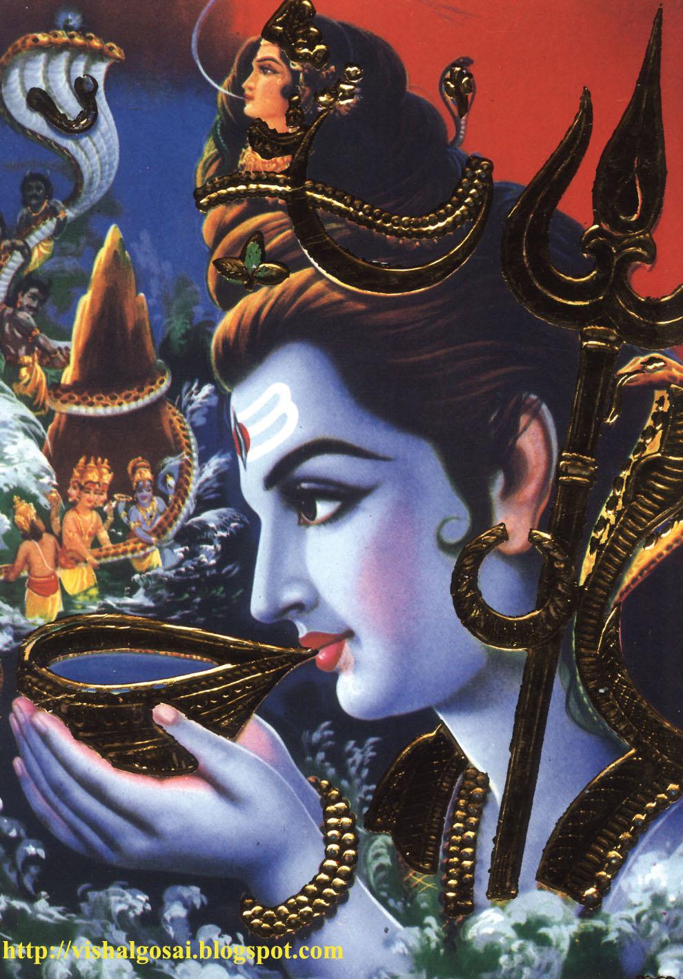 Lord Shiva Angry God shiva