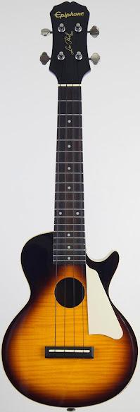 Epiphone Les Paul Electro-Acoustic Concert Ukulele Corner