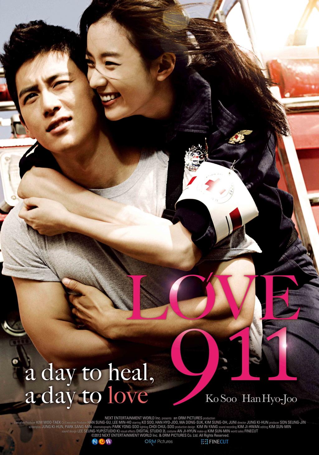 Poster Phim Yêu Khẩn Cấp - Love 911
