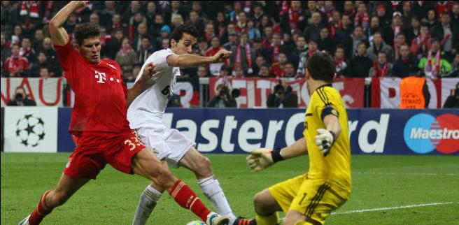 Mario Gomez, Bayern Munich - Real Madrid