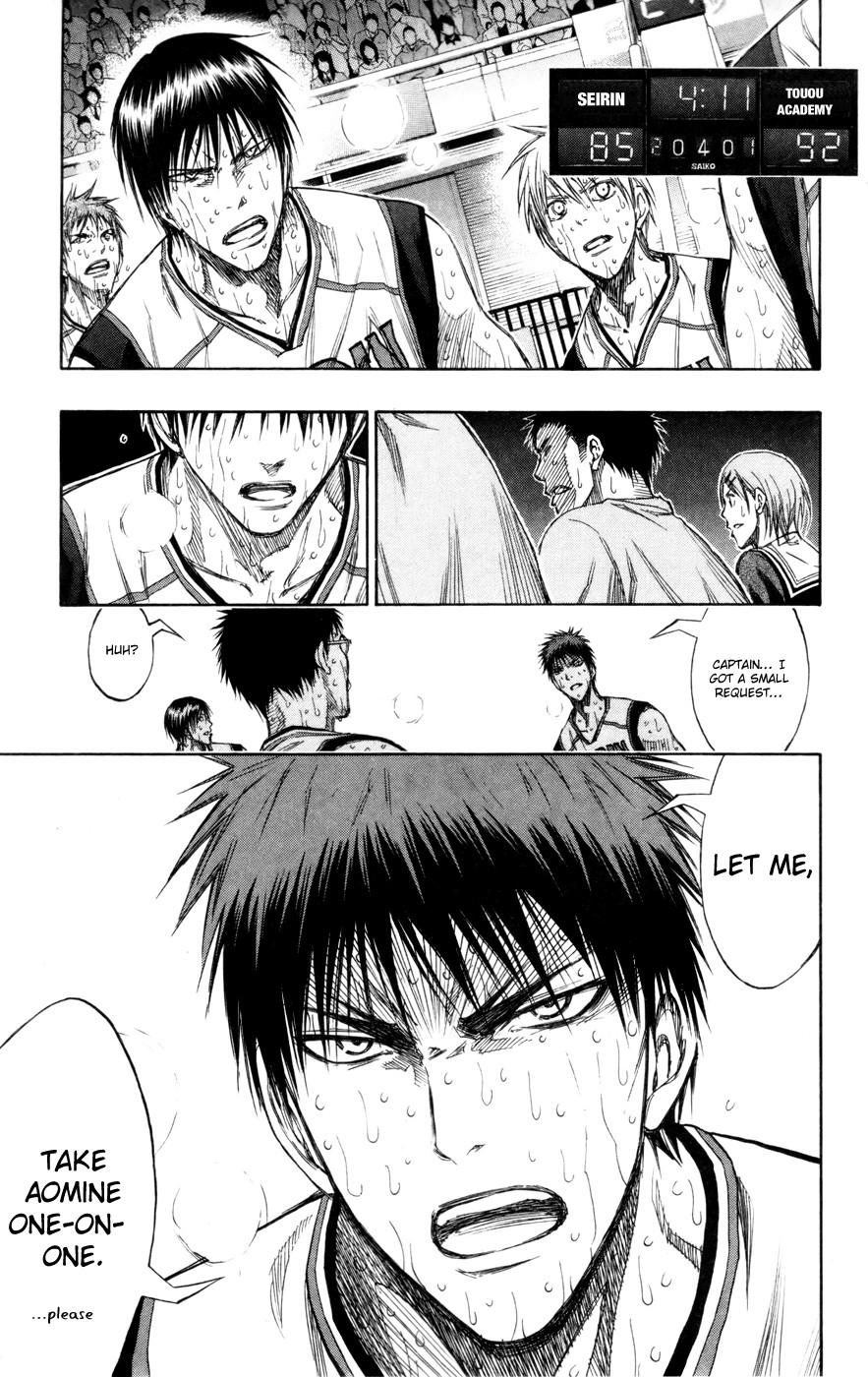 Kuroko no Basket Manga Chapter 134 - Image 19