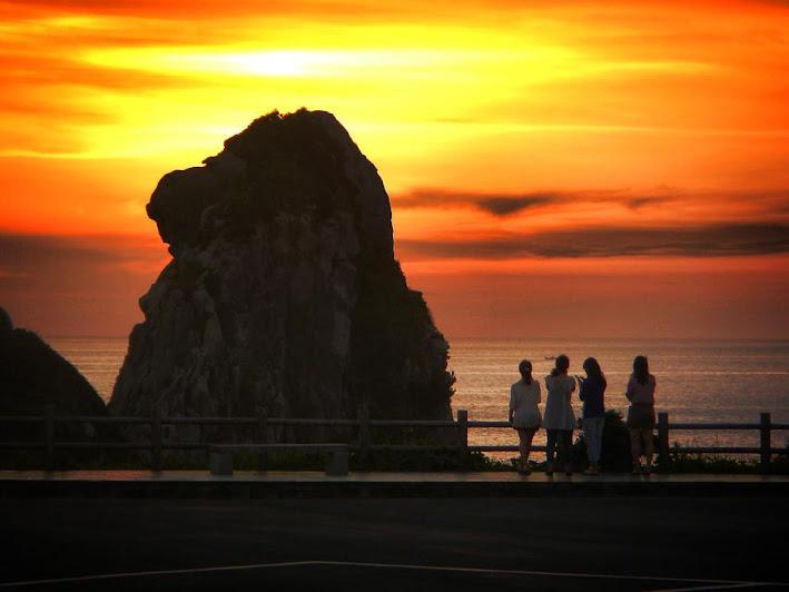 黒崎半島(猿岩)