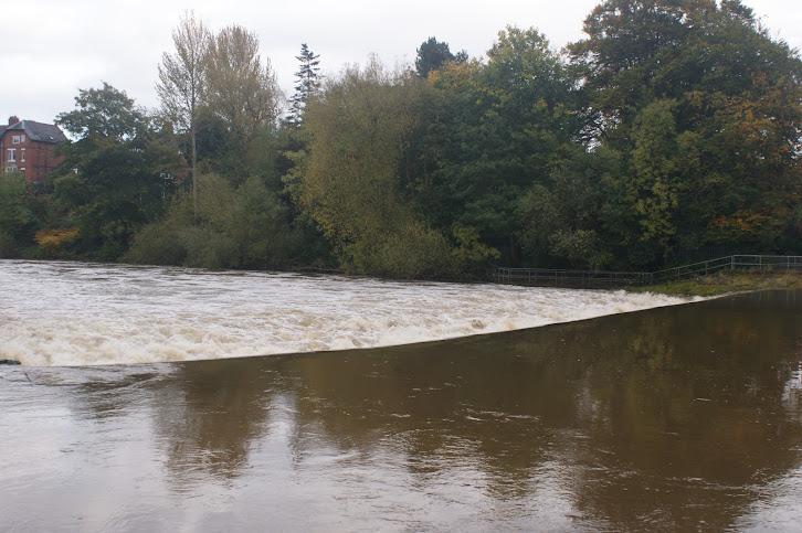 Shrewsbury Weir - October 2012
