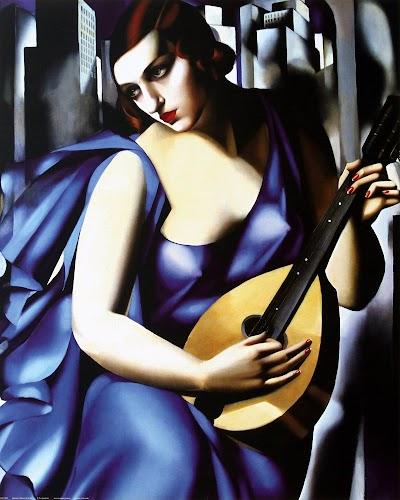 Tamara de Lempicka, the musician