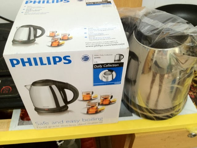 Philips mini kettle