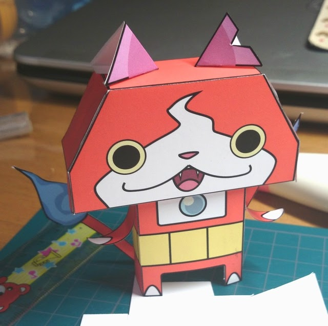 YoKai Watch Papercraft Jibanyan