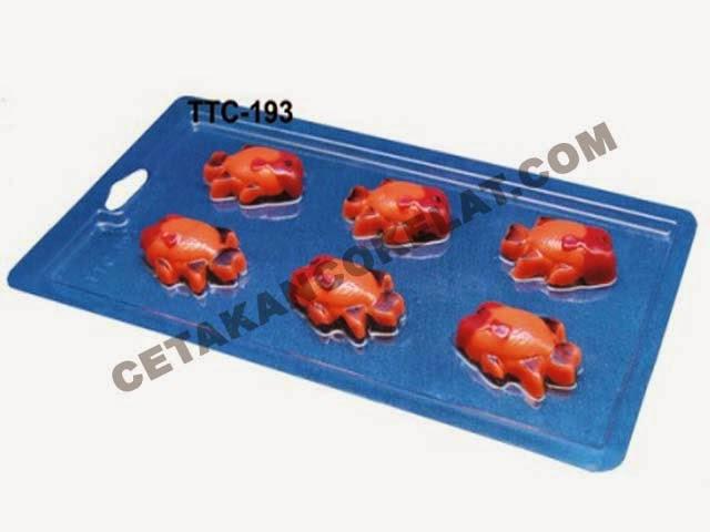 TTC193 Hewan Ikan Lohan Louhan
