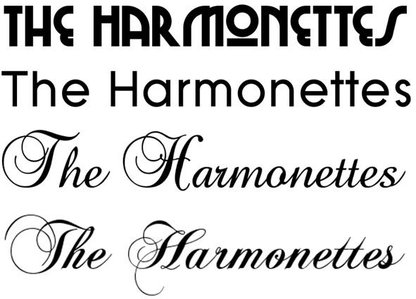 Band name font creator