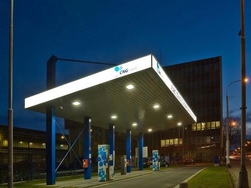Ostrava. Stacja CNG należąca do Vitkovice, które w tym roku zbuduje 20 kolejnych obiektów