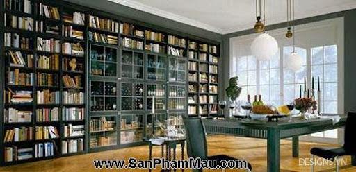 Các mẫu thiết kế nội thất phòng đọc sách P1-14