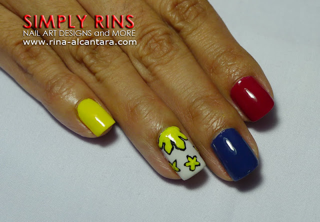 Jose Rizal nail art design 02