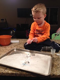 Melting Snowman Kids Activity