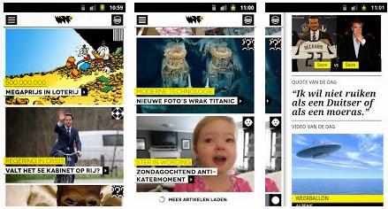 WTF.nl App voor Android, iPhone en iPad