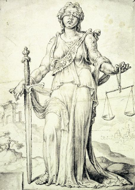 Maarten van Heemskerck - Justice