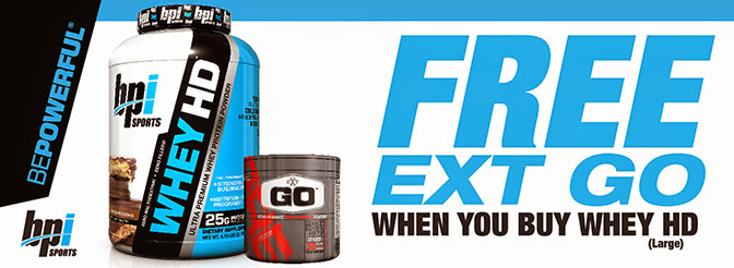 Whey HD with free EXT Go Pre-Workout