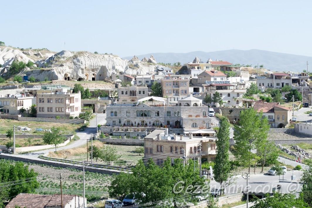 Göreme Inn otelin bulunduğu bölge, Kapadokya