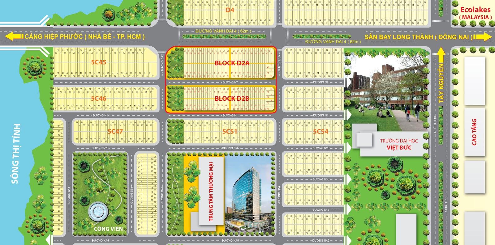 Mở bán dự án mới khu đô thị sinh thái Sunrise River giá gốc CĐT