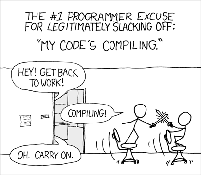 Programmer Excuses: 1992