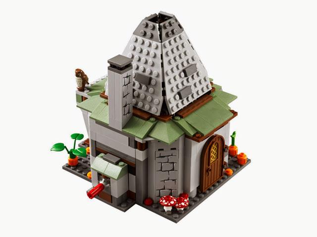 4738 レゴ ハリーポッター ハグリッドの小屋