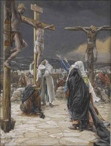 The Death of Jesus - by James Tissot (1836-1902)