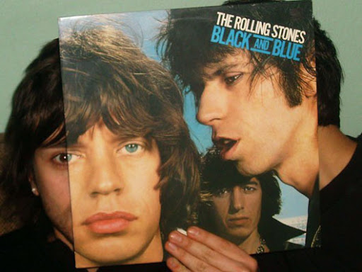 Rolling Stones Black and Blue sleeveface
