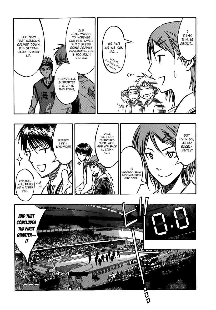 Kuroko no Basket Manga Chapter 188 - Image 04