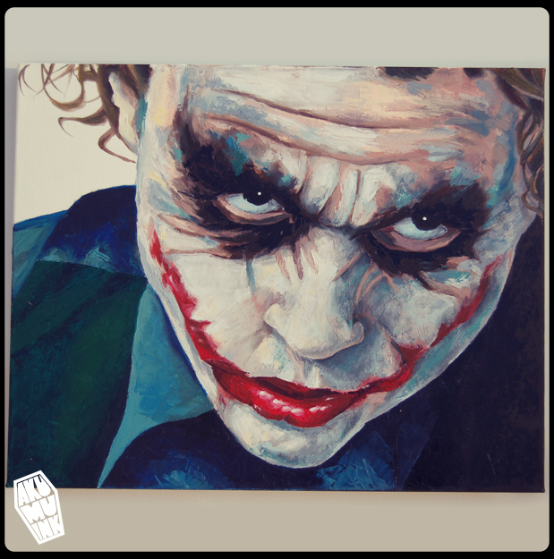 joker, joker canvas, joker art, joker nightmare, batman paint, batman art, joker art, joker artwork, batman fanart, joker oil paint, batman canvas, comic villain art, dark knight art,