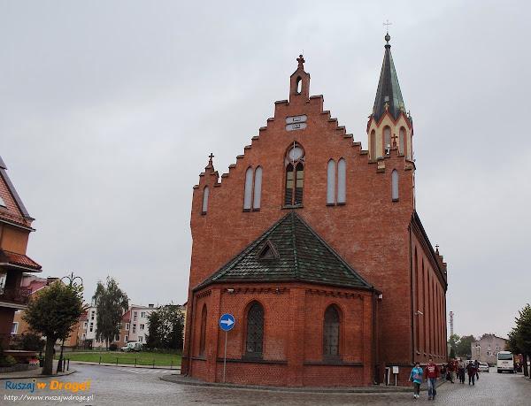 Nowy Staw kościół ewangelicki Ołówek