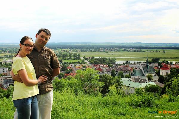 Kasia i Maciej Marczewscy nad Nidą