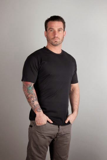 UK-made cotton T shirt in black 140gsm cotton - Unbranded Apparel make ethical T shirts