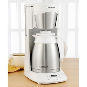 Cuisinart Dtc 975 Thermal 12 Cup Programmable Coffeemaker White
