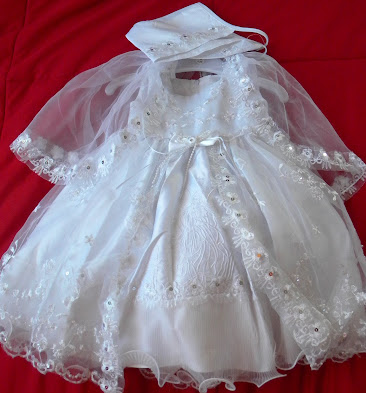 Angels Girl Toddler WHITE Christening Baptism Dress Gown/#XS/S/M/L/XL/0-3M/3-6M/6-12M/12-18M/18-24M/XSMALL/SMALL/MEDIUM/LARGE/XL/5443 at Sears.com