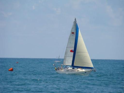 Janna under sail