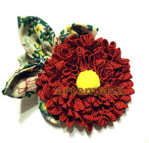 artemelza - flor com sianinha