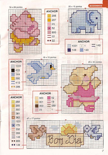 Gráficos punto de cruz 1001ideiaismini-21-06