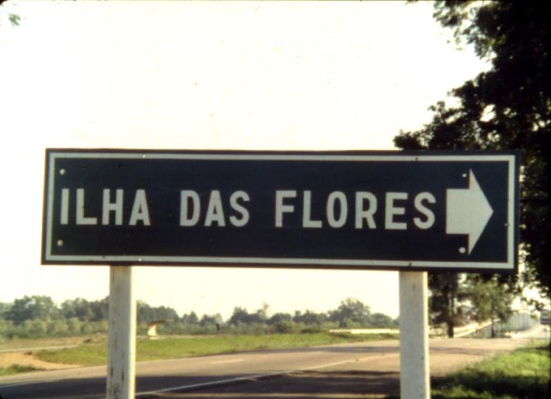 Остров цветов / Ilha das flores