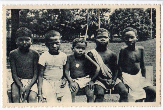 Five Indian Native Children - Patna, Bihar
