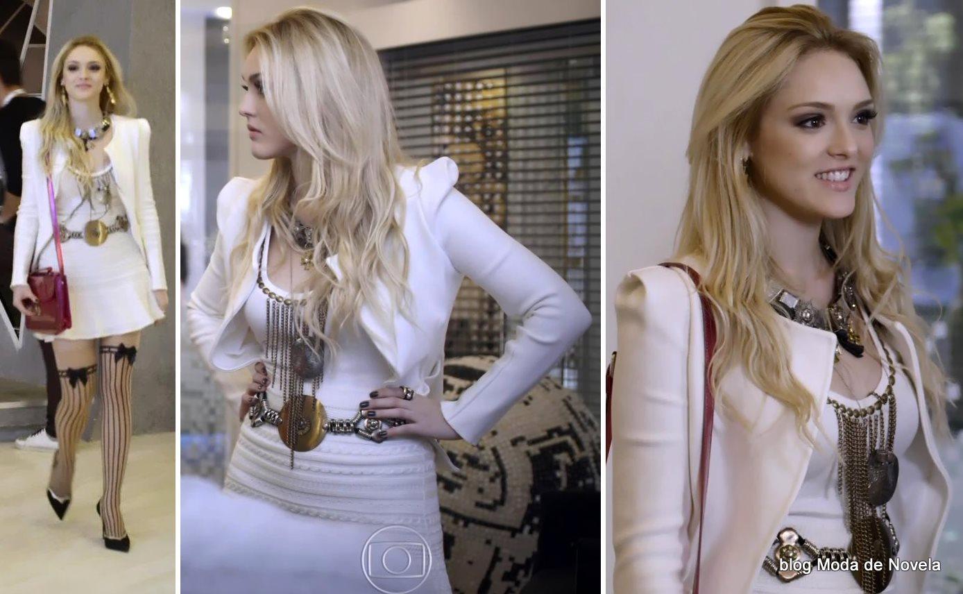 moda da novela Geração Brasil - look da Megan dia 29 de julho