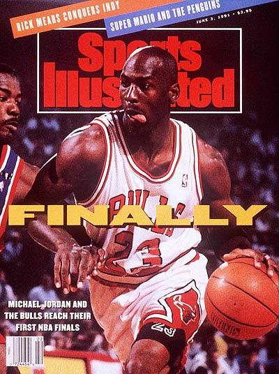 *Sports Illustrated:慶祝Michael Jordan 50歲生日封面特輯回顧! 8