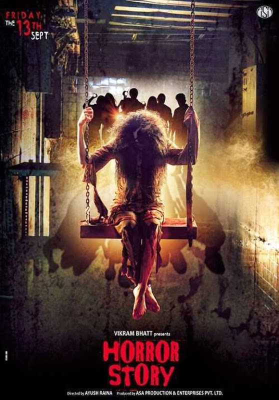 Poster Of Hindi Movie Horror Story (2013) Free Download Full New Hindi Movie Watch Online At Alldownloads4u.Com